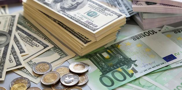 قیمت دلار و یورو امروز چهارشنبه 27 آذر 98/ بازگشت دلار به کانال 13